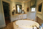 Country French Home Plan Master Bathroom Photo 12 - 024S-0025 | House Plans and More