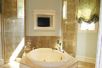 Country French Home Plan Master Bathroom Photo 02 - 024S-0025 | House Plans and More
