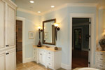 Waterfront Home Plan Master Bathroom Photo 04 - 024S-0025 | House Plans and More