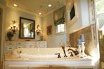 Country French Home Plan Master Bathroom Photo 06 - 024S-0025 | House Plans and More