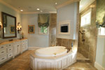 Country French Home Plan Master Bathroom Photo 09 - 024S-0025 | House Plans and More