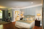 Country French Home Plan Master Bedroom Photo 02 - 024S-0025 | House Plans and More
