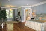 Country French Home Plan Master Bedroom Photo 06 - 024S-0025 | House Plans and More