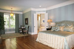 Country French Home Plan Master Bedroom Photo 07 - 024S-0025 | House Plans and More