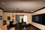 Arts and Crafts House Plan Media Room Photo 03 - 024S-0025 | House Plans and More