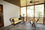 Country French Home Plan Screened Porch Photo 03 - 024S-0025 | House Plans and More