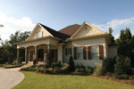 Southern House Plan Side View Photo 01 - 024S-0025 | House Plans and More