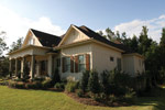 Country French House Plan Side View Photo 02 - 024S-0025 | House Plans and More