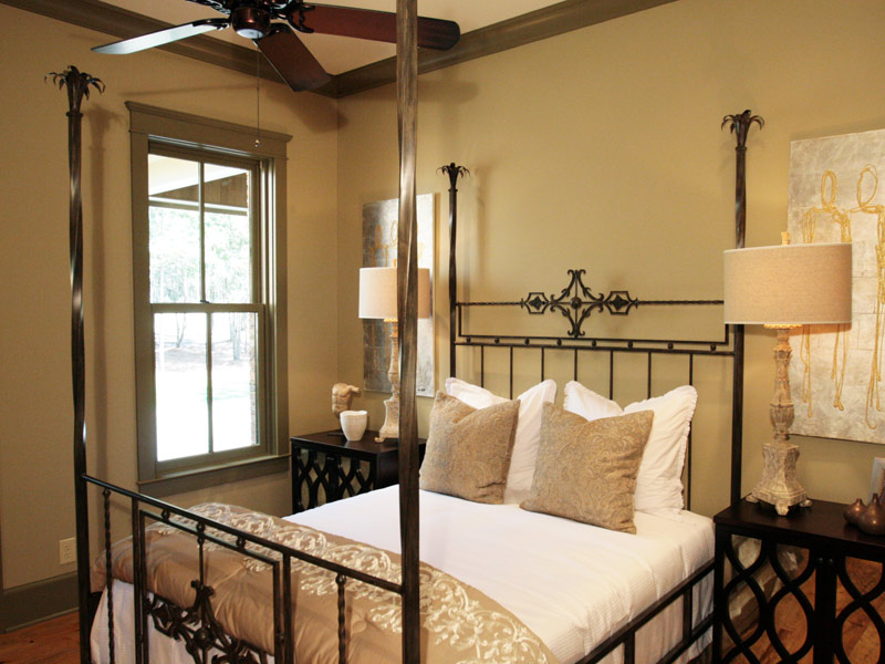 Vacation Home Plan Bedroom Photo 02 024S-0026