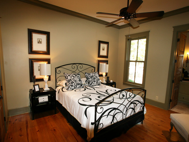Vacation Home Plan Bedroom Photo 07 - 024S-0026 | House Plans and More