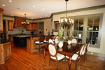 Vacation Home Plan Breakfast Room Photo 02 - 024S-0026 | House Plans and More