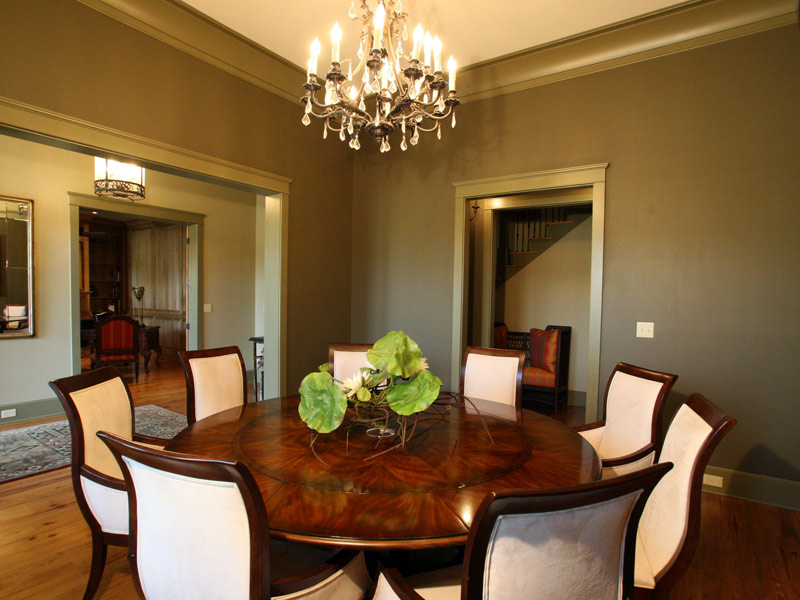 Vacation Home Plan Dining Room Photo 01 024S-0026