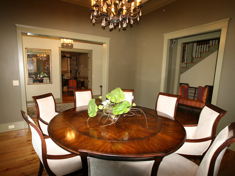Vacation Home Plan Dining Room Photo 02 024S-0026