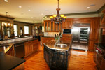 Waterfront Home Plan Kitchen Photo 02 - 024S-0026 | House Plans and More