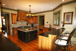 Waterfront Home Plan Kitchen Photo 03 - 024S-0026 | House Plans and More
