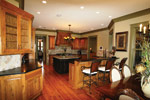 Waterfront Home Plan Kitchen Photo 06 - 024S-0026 | House Plans and More