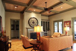 Luxury House Plan Living Room Photo 02 - 024S-0026 | House Plans and More