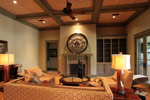 Waterfront Home Plan Living Room Photo 04 - 024S-0026 | House Plans and More