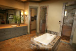 Luxury House Plan Master Bathroom Photo 01 - 024S-0026 | House Plans and More