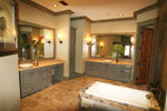 Waterfront Home Plan Master Bathroom Photo 02 - 024S-0026 | House Plans and More