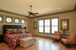Waterfront Home Plan Master Bedroom Photo 03 - 024S-0026 | House Plans and More