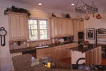Sunbelt Home Plan Kitchen Photo 06 - 024S-0037 | House Plans and More
