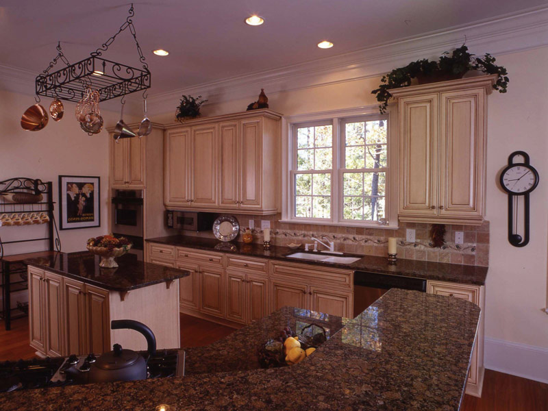 Colonial House Plan Kitchen Photo 08 - 024S-0037 | House Plans and More