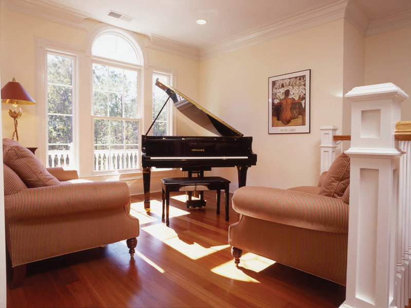 Waterfront Home Plan Music Room Photo 01 024S-0037