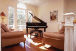 Waterfront House Plan Music Room Photo 01 - 024S-0037 | House Plans and More