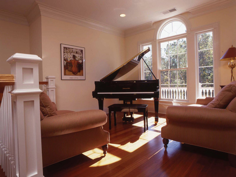 Waterfront Home Plan Music Room Photo 02 024S-0037