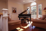 Waterfront House Plan Music Room Photo 02 - 024S-0037 | House Plans and More