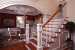 Colonial Floor Plan Stairs Photo - 024S-0037 | House Plans and More