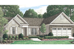 Ranch Home With Craftsman Impressions