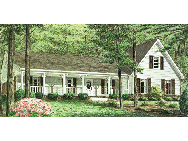 Friendly Country Home With Farmhome Accents