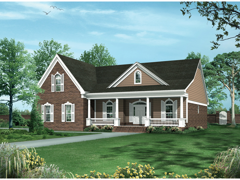 Exquisite Country Home With Welcoming Front Porch