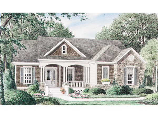 Portsfield Craftsman Ranch Home Plan 025d 0021 House