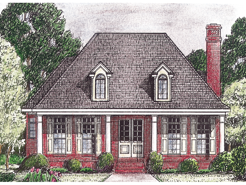 savannah point french style home plan 025d 0031 house