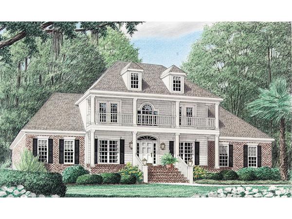 Van Birkelle Plantation Home Plan 025d 0052 House Plans