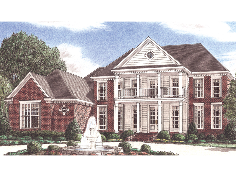 Mccain Greek Revival Home Plan 025d 0058 House Plans And