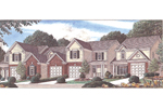 Great Curb Appeal With This Multi-Family House Plan
