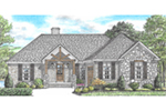 Traditional House Plan Front of Home - 025D-0107 | House Plans and More