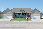 Symmetrical Ranch Style Duplex