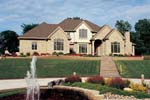 Country French Home Plan Front Photo 02 - 026D-0171 | House Plans and More