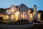 Traditional House Plan Front Photo 05 - 026D-0171 | House Plans and More