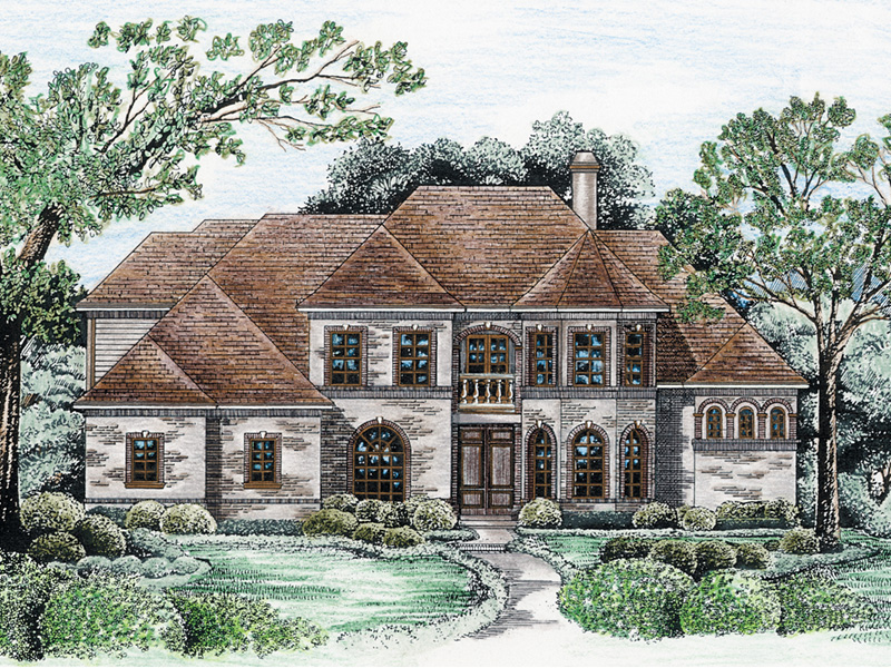 Victorian House Plan Front Image - 026D-0175 | House Plans and More