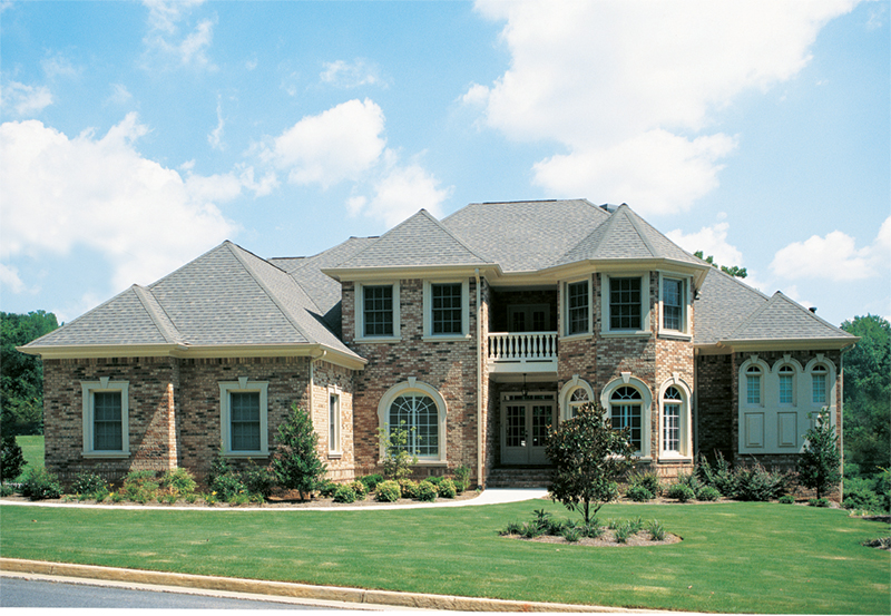 European House Plan Front of Home 026D-0175