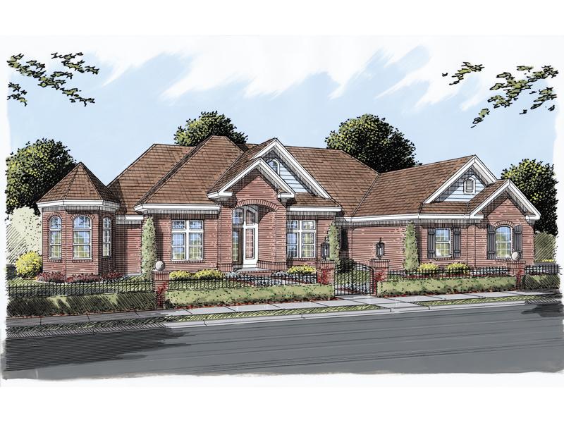 Princeton Park Luxury Home Plan 026d 0290 House Plans