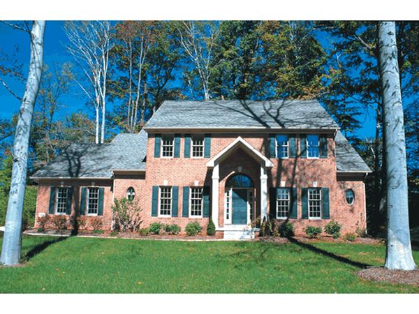 Walker Georgian Colonial Home Plan 026d 0566 House Plans
