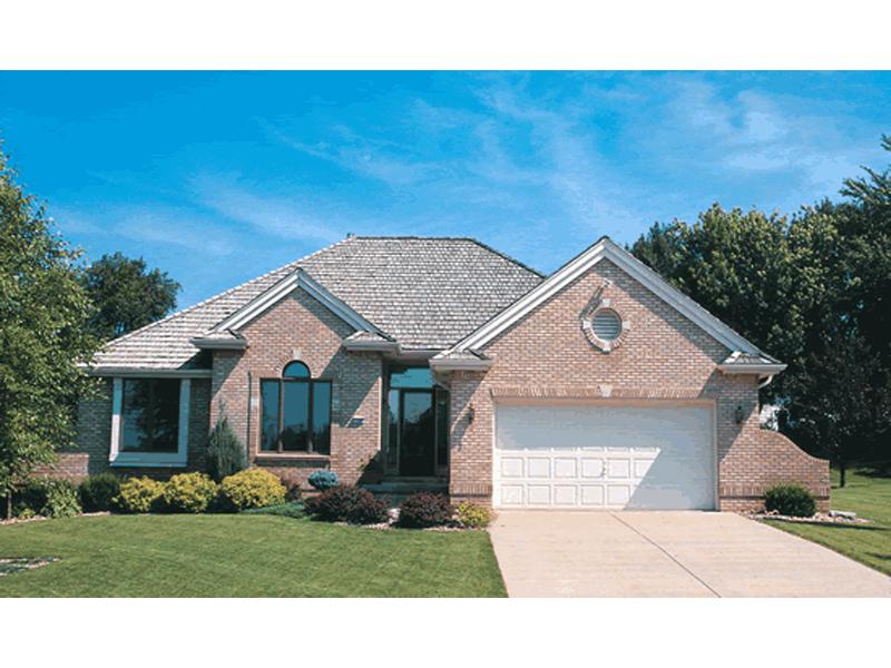 Valdosta Brick Ranch Home Plan 026d 0614 House Plans And