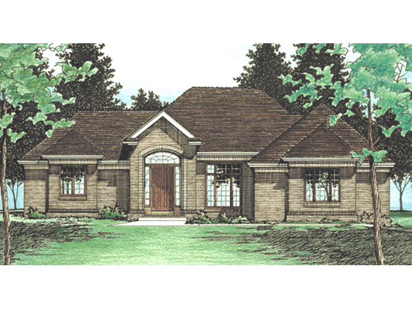 Spears valley ranch home plan 026d 0687 house plans and more for Spear house blueprints
